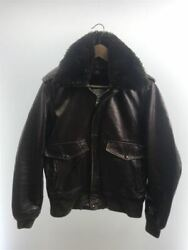 Schott A-2/i.s.674.m.s/with Liner/flight Jacket/38/leather/brw/184sm