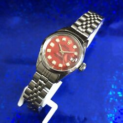 Vintage 1971 Tudor Perpetual Rolex Oyster Case Stunning Dial Serviced W/warranty