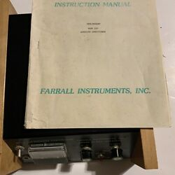 Old Farrall Home Quack Medical Device Aversion Shock Therapy Instrument Manual