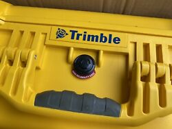 Genuine Trimble Pelican Yellow Rugged Case For Sps986 Sps985 Sps855 Sps356 542