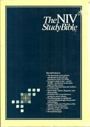 Holy Bible, New International Version Study Bible, Black By Not Available New