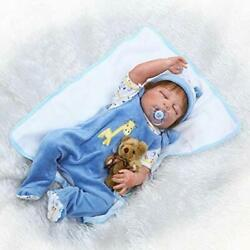 Reborn Dolls Simulation Play Doll Silicone Cute Baby Taking To Water Toy Kids