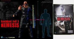 Worldbox Resident Evil 3 Boss 1.0 1/6 Scale Action Figure 12'' Model In Stock