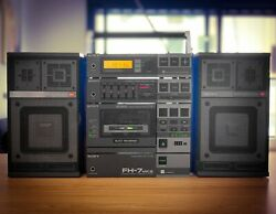 Sony Fh-7mkiii 1982 🔥rare🔥 Vintage Stereo Boombox Recorder