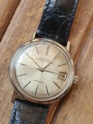 Extremely Rare Universal Polerouter Geneva Microtor Automatic Swiss Men's Watch