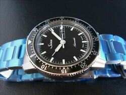 Sinn 104stsa Pilot Ss Military Watch Automatic Menand039s Black Dial Day-date Boxed