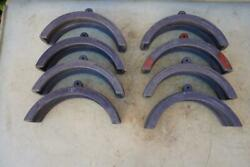 Mcelroy Pipe Fusion Machine Inserts 10 Inch Ips Master Model 1207202 Set1
