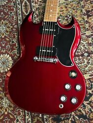 Gibson Sg Special 2019 Vintage Sparkling Burgundy W/h/c Ships Safely From Japan