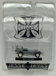 West Coast Choppers Jesse James Outlaw 666 Raw Chase 1/64 Scale Diecast Vehicle