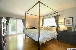 Balinese Cal King Canopy Bed Frame
