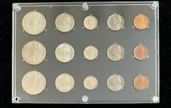 1939 Pds Mint Set From Old Time Collection Choice To Gem Uncirculated Condition