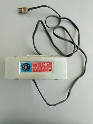 Creepy Crawlers Thingmaker By Mattel 1964 With 9 Molds