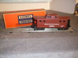 Lionel 536417 Caboose. Pennsylvania Porthole, New York Zone, Lighted Beauty