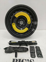 2018-2019 Audi Q5 Sq5 Spare Tire/wheel Jack And Tools 195/75-18 Oem New 861149