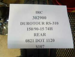 1 New Irc Durotour Rs-310 150 90 15 74 Rear Tires 302900