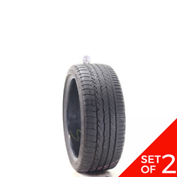 Set Of 2 Used 225/40r18 Dunlop Conquest Sport A/s 92y - 7-8.5/32