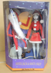 Santa Jack And Santa Sally Nightmare Before Christmas Collection Doll Limited 2000
