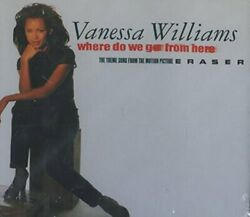 Vanessa Williams - Where Do We Go From Here / Erase - Cd - Single - Sealed/new