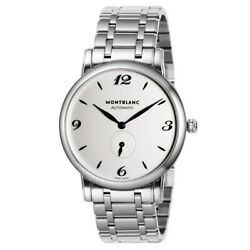 Star 110589 Automatic Small Second Waterproof Ss Silver 115.5g 39mm