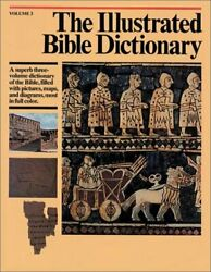 Illustrated Bible Dictionary Volume 3 By J. D. Douglas - Hardcover Mint