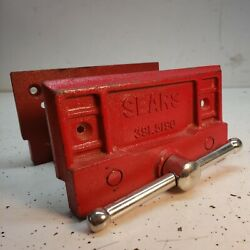 Vintage Sears No.391.5190 Woodworking Vise,under Mount Vice 6-1/2 '' Jaw
