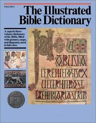 Illustrated Bible Dictionary 1 By J. D. Douglas - Hardcover Mint Condition