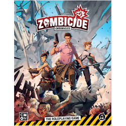 Zombicide Chronicles Rpg Core Book Role-playing Game Cmon Asmodee Nib