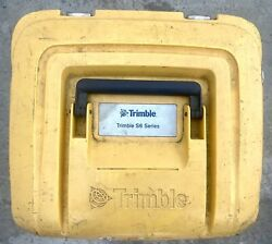 Used Trimble Robotic Total Station Carry Case S3 S5 S6 S7 S8 S9 And Sps Rts Series