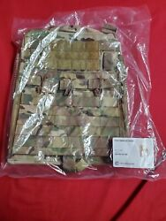 Crye Precision Cage Plate Carrier Plate Pouch Set Multicam Front And Back Large