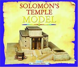 Solomon's Temple Model Candle Discovery Series - Hardcover Excellent Condition