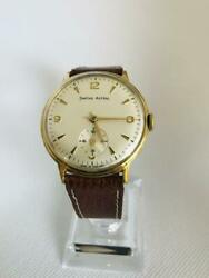 Smiths Astral 33mm Analog Watch Used Antique Vintage Overhauled New Belt