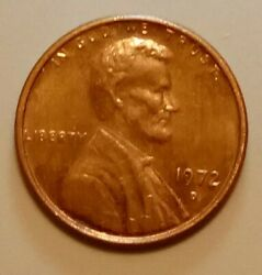 1972 D Lincoln Cent Double 2- Rpm W/ Other Errors 1 C Penny Circulated Ungraded