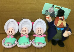 Tokyo Disney Young Oyster Walrus Alice In Wonderland Plush Toy