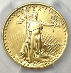 1987 American Gold Eagle 10 Age Coin - Certified Pcgs Ms70 - 3,200 Value