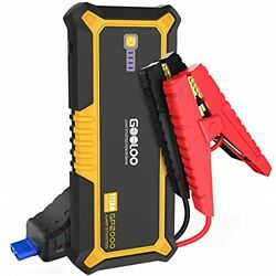 Gooloo Gp2000 2000 Amp Car Battery Jump Starter For Up To 9l Gas And 7l