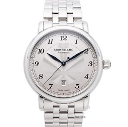 Star Legacy 117324 Automatic Date Transparent Back Ss 42mm New Men