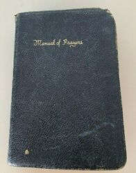 Manual Of Prayers For The Use Of The Catholic Laity Devotional Book 1930 Vintage