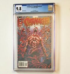 Carnage It's A Wonderful Life 1 Cgc 9.8 Partial Origin 1996 Marvel Just Graded