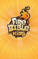Fire Bible For Kids New International Version Hardcover By Life Publishers Vg