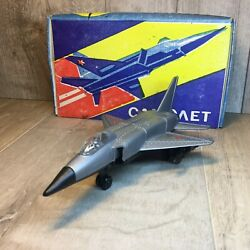 Vintage Airplane Mig-23 Plastic Toy Ussr 1980s In The Original Box New