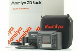 [ Mint Boxed ] Mamiya Zd Digital Back Double Buffer For 645afd Iii From Japan 06