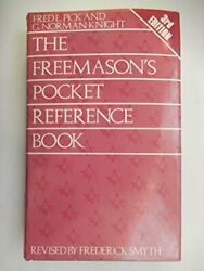 Freemason's Pocket Reference Book By Fred L. Pick And G. Norman Knight - Hardcover