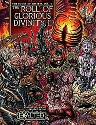 Exalted Books Of Sorcery 5 Roll Of Glorious Divinity Ii By White Wolf Excellent