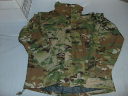 Nwot Us Military Issue Ecwcs Gen Iii Wet Weather Parka Multicam Ocp Small Short