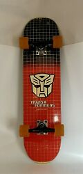 Transformers More Than Meets The Eye Skateboard Rodriguez Pre-owned