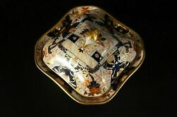 Very Old Antique W.t. Copeland Vegetable Tureen Hand Painted Imari With Gold.