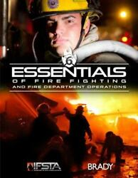Essentials of Fire Fighting and Fire Department Operations Mybradylab Paperb
