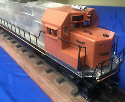 Lionel Clear Shell 18221 5512 O Gauge Sd-50 Preproduction 1995 Rs2