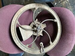 Vintage Corn Grinder No.1 Apache Mill Ah Patch Heavy Cast Iron Corn Feed Grinder