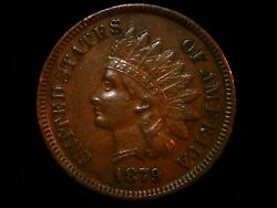 1879 Indian Head Cent You Receive The Exact Indian Cent Pictured And Listed Gg